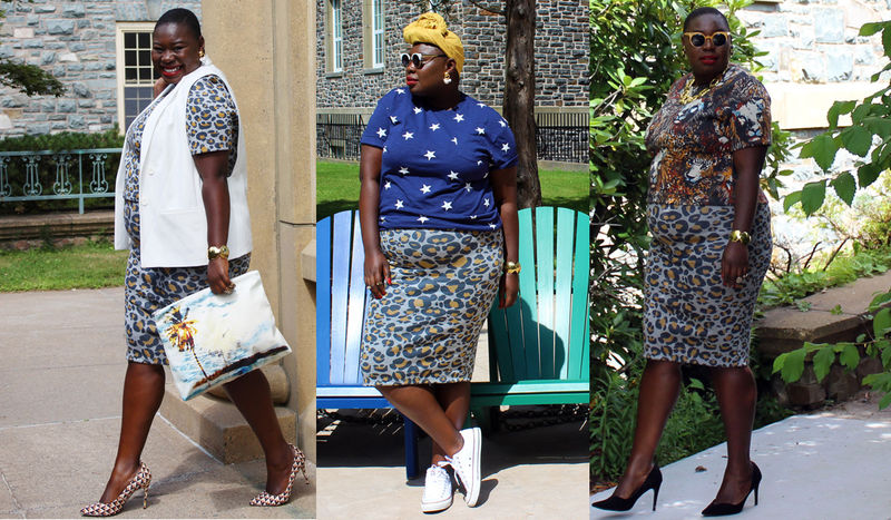 Expressive Plus-Sized Fashion