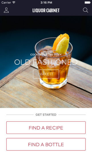 Story-Centric Mixology Apps