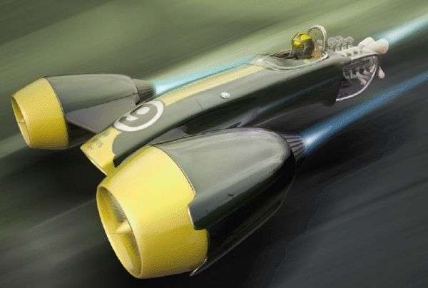 Speedy Floating Vehicles