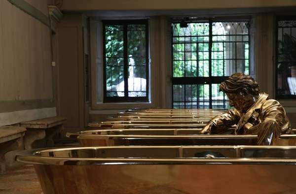 Bronze Bath Exhibits