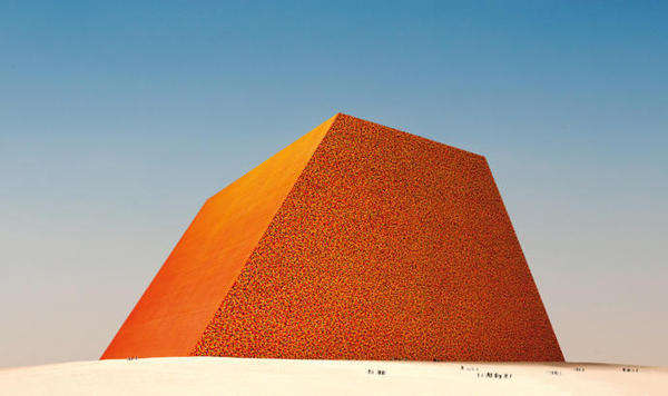 Pyramid-Rivalling Sculptures