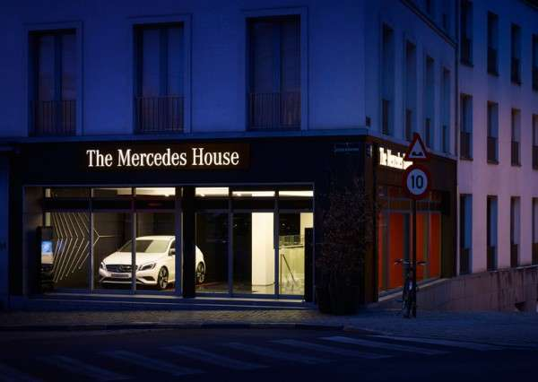 the mercedes house