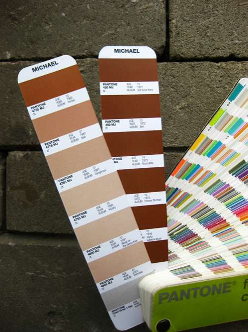 King of Pop Color Swatches