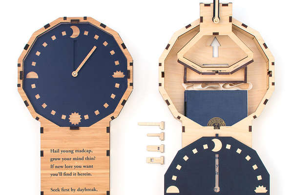 Book-Hiding Timepieces