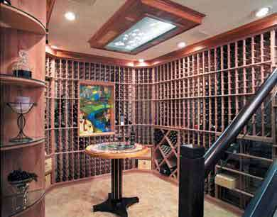 9 Fine Wine Shrines