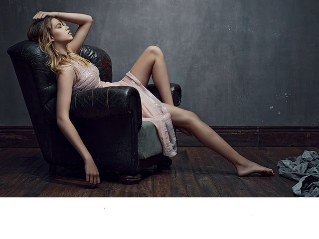 Luxurious Lounging Editorials