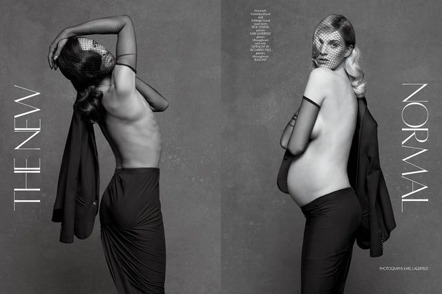 Posh Pregnancy Photoshoots