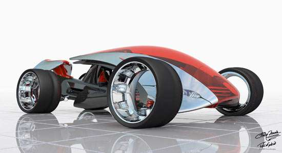 Shoe Designers Tackle Concept Car