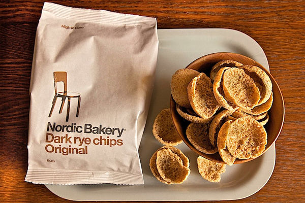 Scandinavian Rye Chips