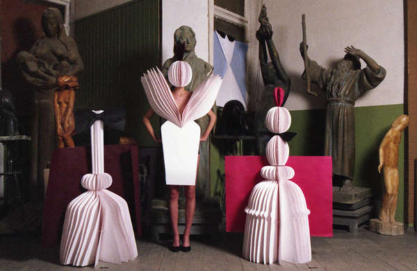 Cardboard Couture Captures