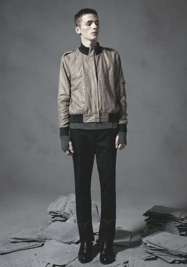 Subdued Feminized Menswear