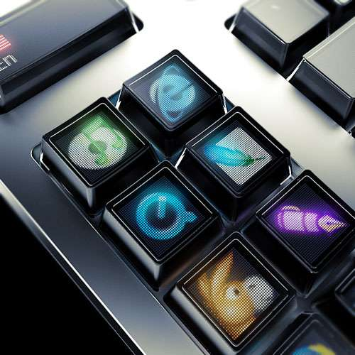 Optimus Organic LED Keyboard