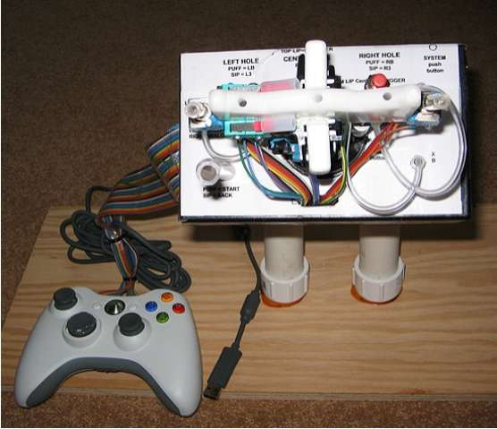 Quadriplegic Gaming Controllers