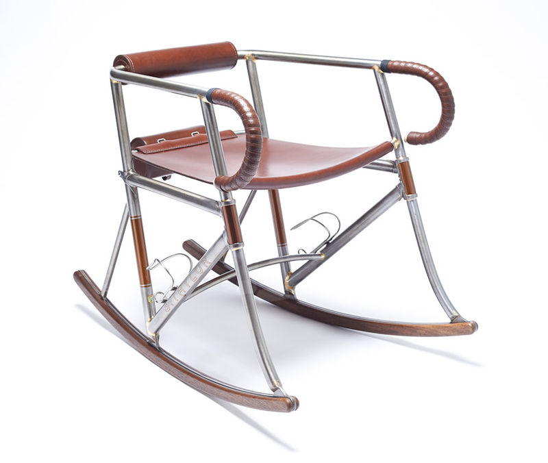 Bike Frame Chairs