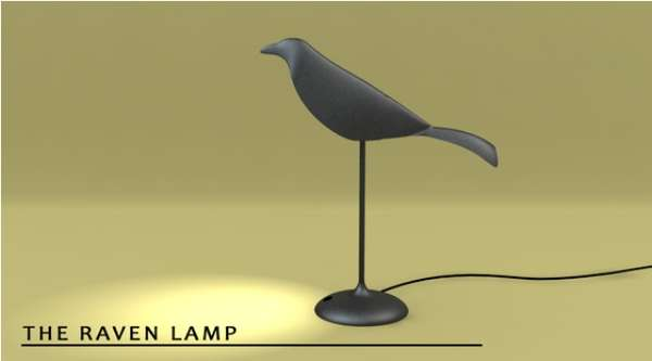 Poetic Bird Lighting
