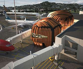 Pumpkin-Shaped Airports