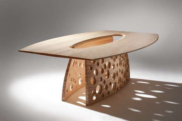 Flowing Orificed Furniture