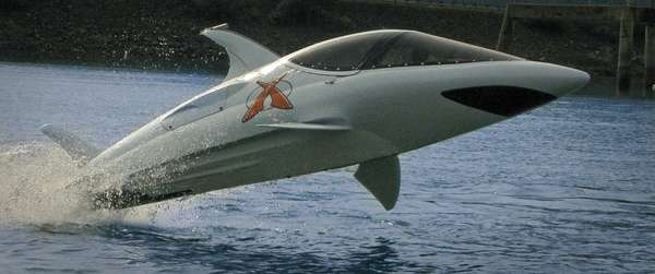 Shark-Shaped Watercrafts