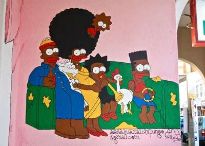 Africanized Iconic Cartoons