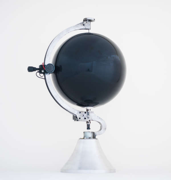 Worldly Globe Record Players