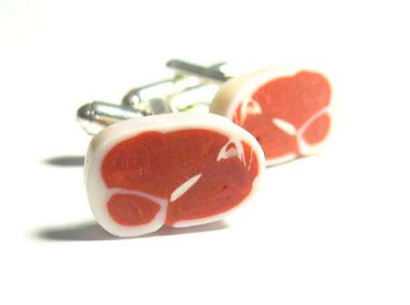 Meat-Lover Cufflinks