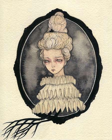 Vintage Victorian Watercolors