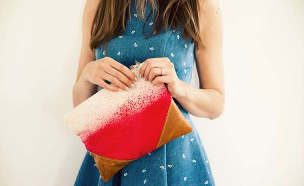 Darling Dip-Dyed Purses