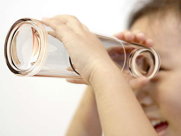 Telescopic Drinking Glasses