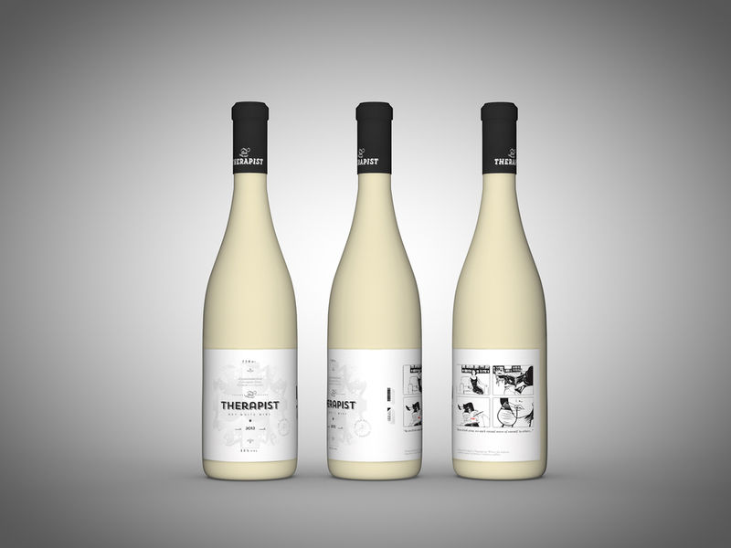 Therapeutic Wine Branding