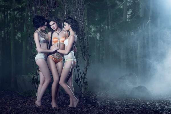 Mythological Trio Photography