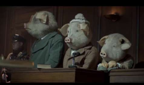The Three Little Pigs Advert by The Guardian
