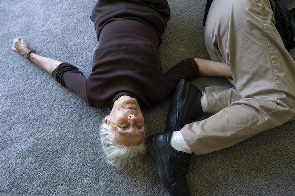 Elderly Love Triangle Photography