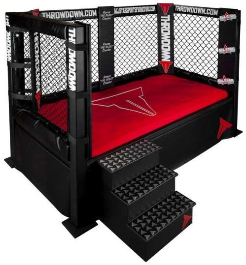 Boxing Ring Beds : The Throwdown Bed