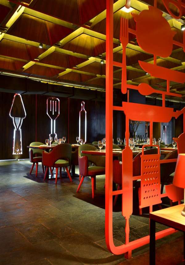 Utensil-Inspired Restaurants