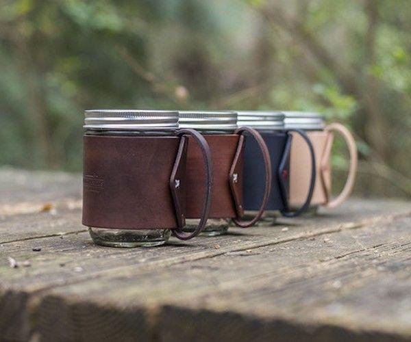 Mason Jar Travel Mugs