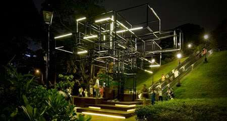 Forest-Inspired Installations