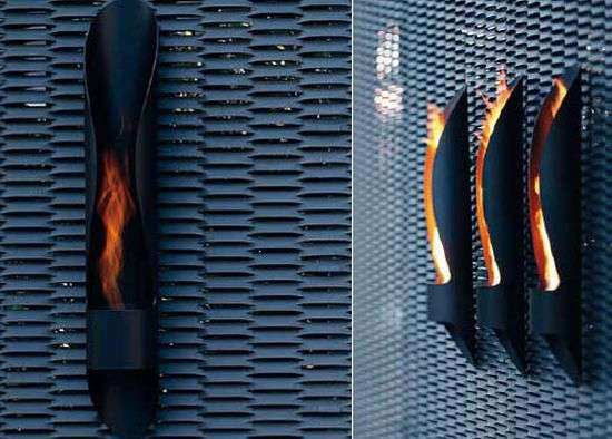 The Tube Bioethanol Fireplace