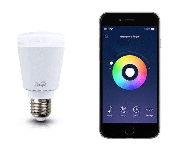 Gentle Alarm Lightbulbs