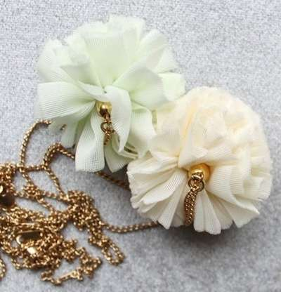 Pretty Pom-Pom Jewelry