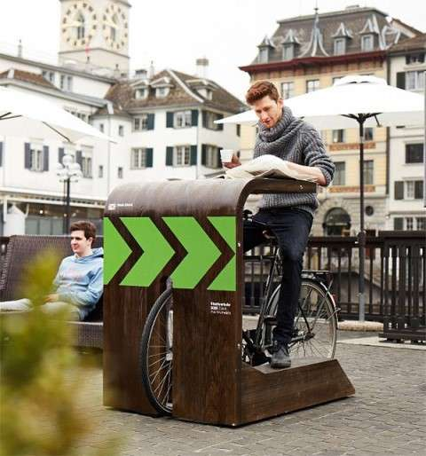 Bike-Up Coffee Bars