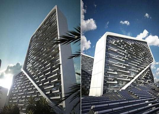 Solar Jigsaw Buildings