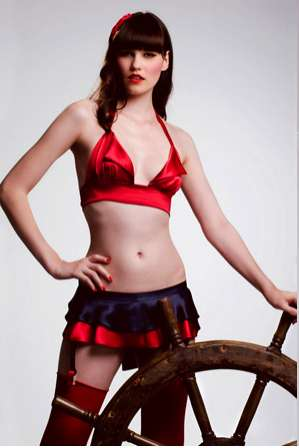 Naughty Nautical Lingerie