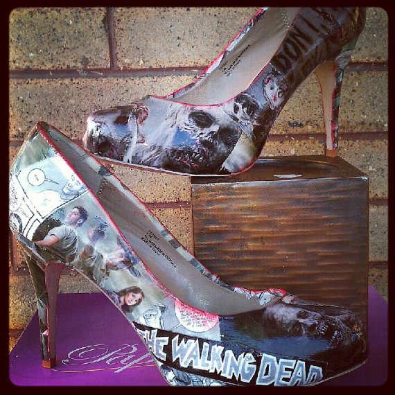Menacing Zombie Heels