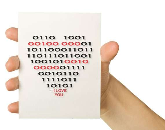 Romantic Code Cards