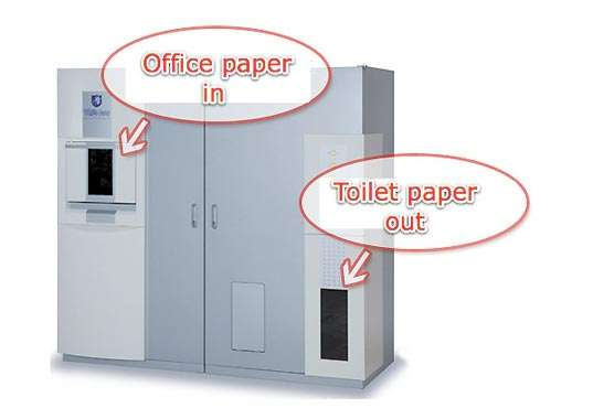 Toilet Paper Converters