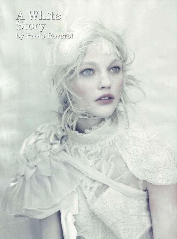 All-White Pictorials