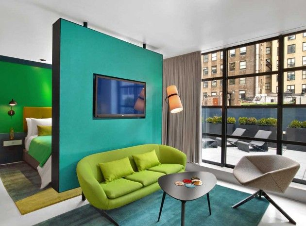 Conceptual Painterly Hotels