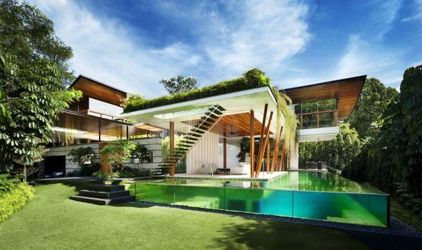 Soulful nature preserving homes the willow house - Maison du monde ile de france ...