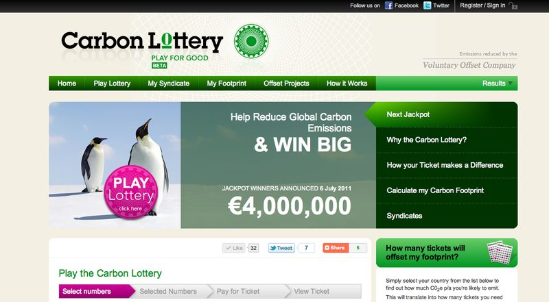Green Lotto Games