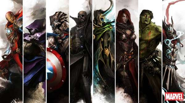 Medieval Marvel Superheroes
